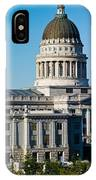Utah State Capitol Building, Salt Lake IPhone Case