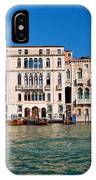 Venice Grand Canal View Italy IPhone Case