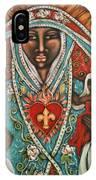 Vierge Noire De Paris IPhone Case