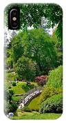 View Of A Japanese Garden IPhone Case