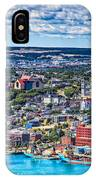 View Of The St. John's Newfoundland From Signal Hill IPhone Case