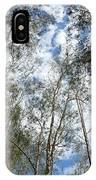 View Of Towering Trees IPhone Case