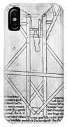 Villard De Honnecourt (c1225-c1250) IPhone Case