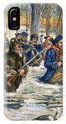 Vincennes: March, 1779 IPhone Case
