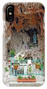 Virgin Mary Grotto IPhone X Case