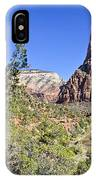 Virgin River View -zion IPhone Case