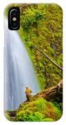 Wahkeena Falls Oregon IPhone Case