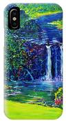 Waimea Falls L  IPhone X Case