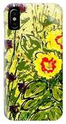 Walls Of Heavenly Flowers IPhone Case