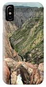 Walls Of The Black Canyon IPhone Case