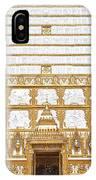 Wat Nong Bua Main Stupa Base Dthu453 IPhone Case