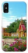 Wat Tha Sung Temple In Uthaithani-thailand IPhone Case