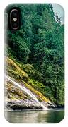 Waterfall Jervis Inlet IPhone Case