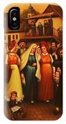 Wedding In Jewish Quarter. IPhone Case