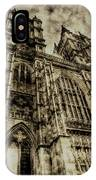 Westminster Abbey London Vintage IPhone Case