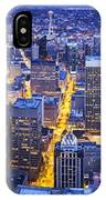 Wide Seattle Cityscape IPhone Case