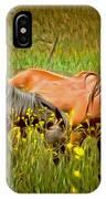 Wild Horses In California Series 2 IPhone Case
