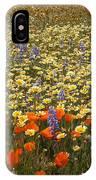 Wildflower Wonderland 9 IPhone Case