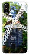 Windmill At Hofstra IPhone Case