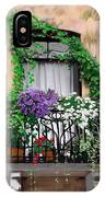 Window Flower Box IPhone Case