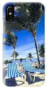 Windy Day At The Beach IPhone Case