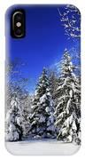 Winter Forest Under Snow IPhone Case