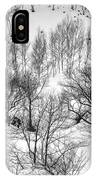 Winter Scene Shiga Japan IPhone Case