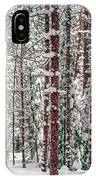 Winters Forest IPhone Case