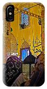 Women At Rumi's Mausoleum In Konya-turkey  IPhone Case