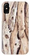Wood Abstract IPhone Case
