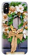Wreath 24 IPhone Case