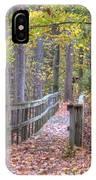 Wye Island Trail  IPhone Case