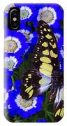 Yellow And Black Butterfly IPhone Case