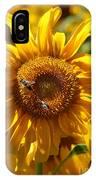Yellow Sunflower IPhone Case