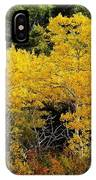 Yellow Trees  IPhone Case