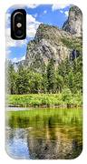 Yosemite Merced River Rafting IPhone Case