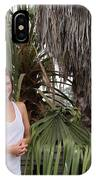 Young Couple Palm Tree IPhone Case