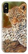 Young Leopard IPhone Case