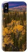 Yukon Gold - Fall In Yukon Territory Canada IPhone Case