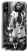 Alaska Eskimo Woman IPhone Case