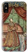 Elizabeth I (1533-1603) IPhone Case