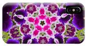 Flower Kaleidoscope Resembling A Mandala IPhone Case