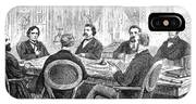 Johnson Impeachment, 1868 IPhone Case