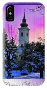 Christmas Card 23 IPhone Case