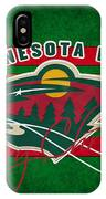 Minnesota Wild IPhone Case