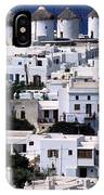 Mykonos Town IPhone Case