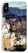 Santorini - Greece IPhone Case