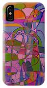 1008 Abstract Thought IPhone Case