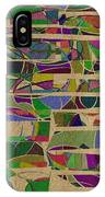 1023 Abstract Thought IPhone Case