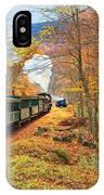 Cass Scenic Railroad IPhone Case